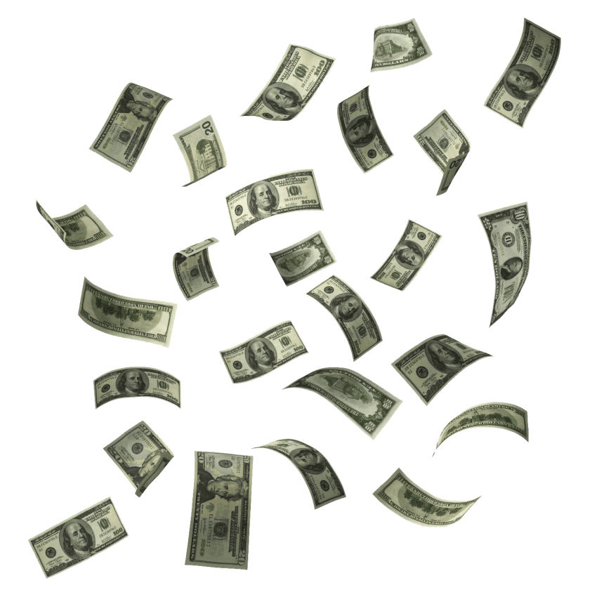 Falling money clipart clipart library library falling money png - Free PNG Images | TOPpng clipart library library