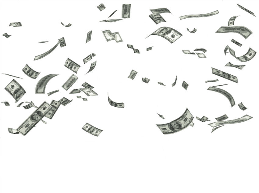 Falling money clipart picture free falling money png - Free PNG Images | TOPpng picture free