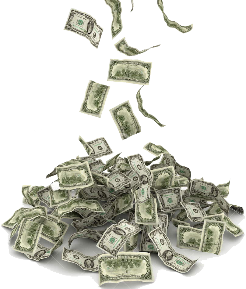Make it rain money clipart png download Falling Money PNG Image - PurePNG | Free transparent CC0 PNG Image ... png download