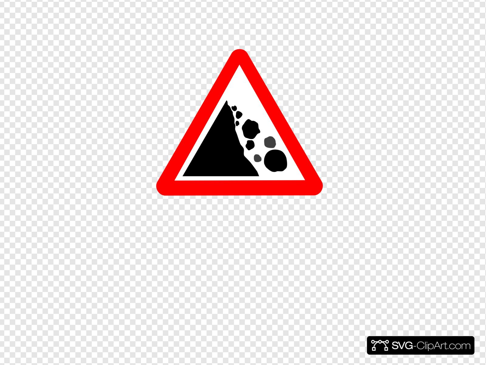 Falling rocks clipart image royalty free download Falling Rocks Clip art, Icon and SVG - SVG Clipart image royalty free download