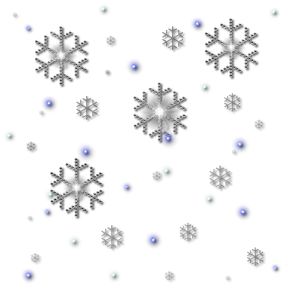 Falling snowflake clipart black and white jpg black and white Snowflakes PNG Transparent Snowflakes.PNG Images.   PlusPNG jpg black and white