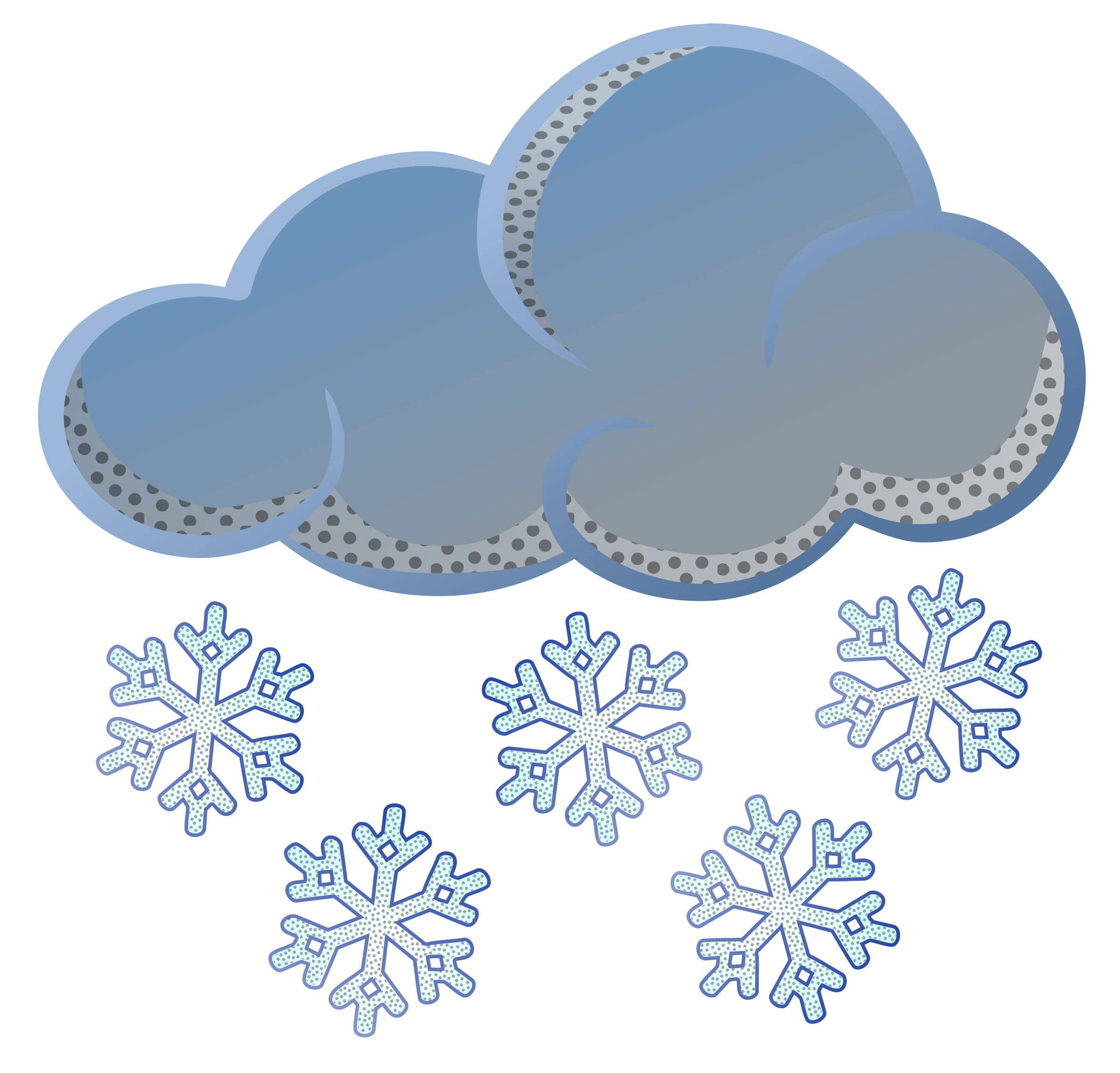 Snowflake cloud clipart banner free library 28+ Collection of Snow Clipart Png Transparent | High quality, free ... banner free library