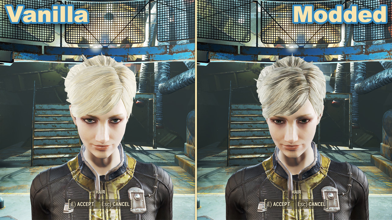 Fallout 4 clip royalty free download Wasteland Salon - Hair Texture Improvement Mod at Fallout 4 Nexus ... clip royalty free download