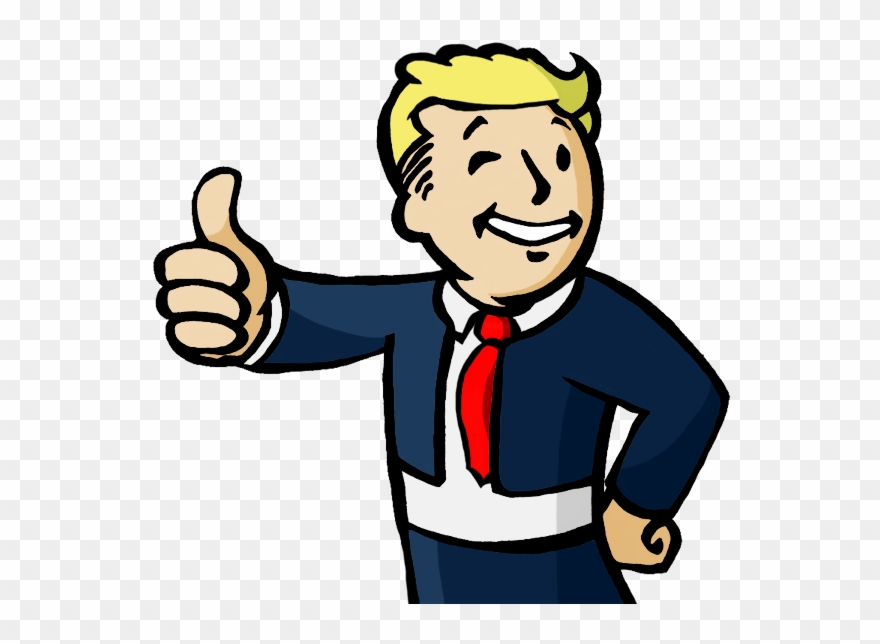 Fallout 4 clipart picture free Fallout Guy Trump Clipart Fallout 4 Fallout - Donald Trump Vault Boy ... picture free