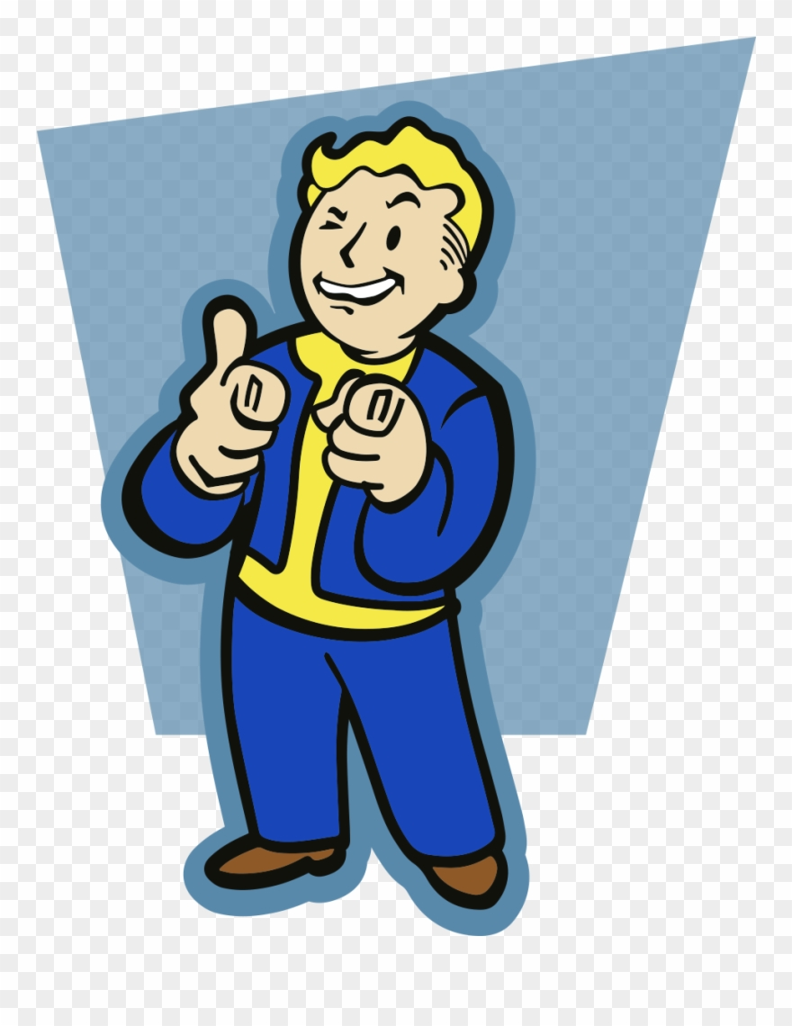 Charisma clipart graphic royalty free download Charisma - Fallout 4 Vault Boy A5 Notebook Clipart (#2027371 ... graphic royalty free download