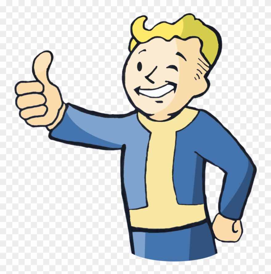 Fallout 4 clipart jpg library stock Fallout 4 Vault Boy Transparent Clipart (#1946833) - PinClipart jpg library stock