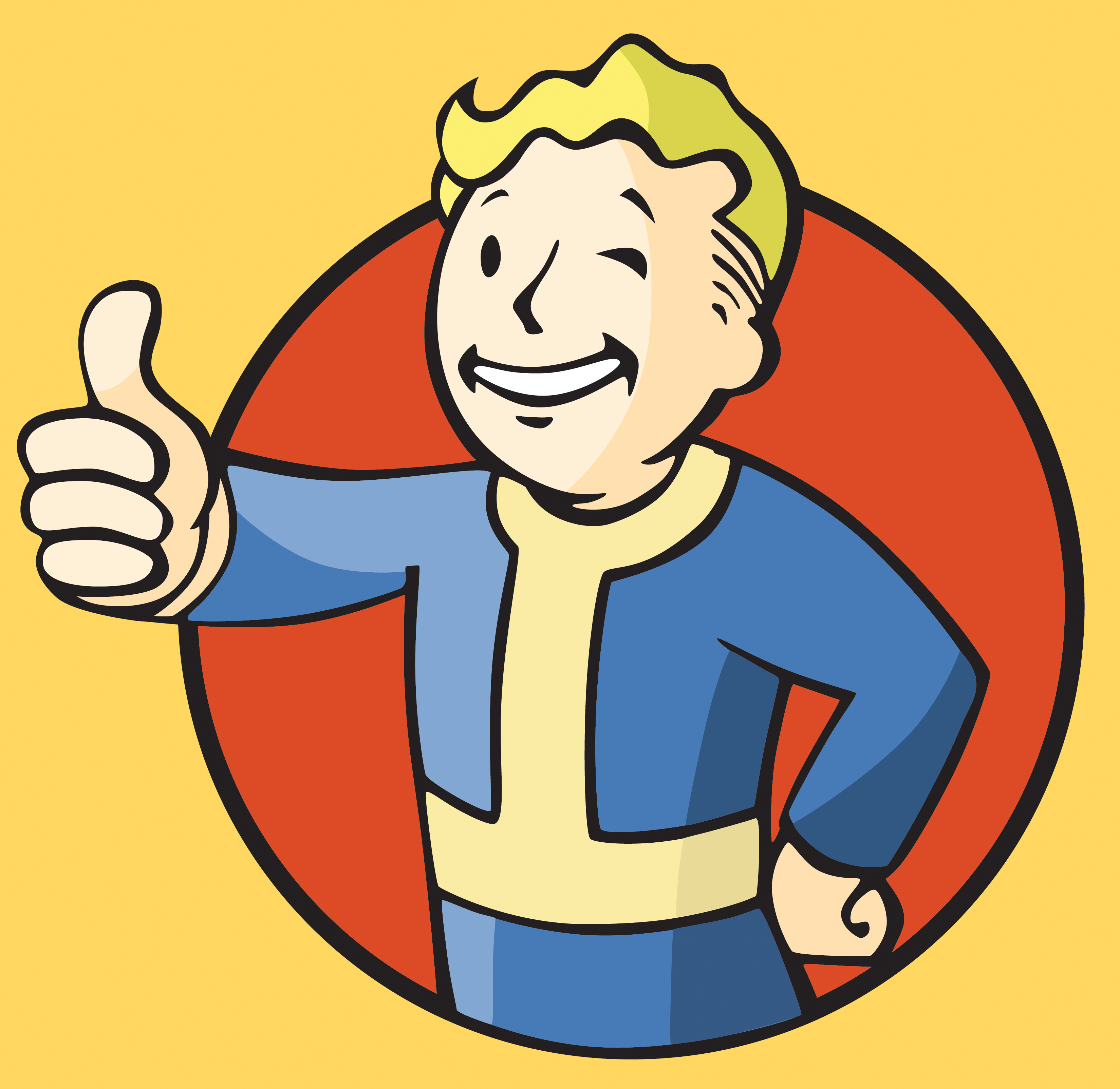 Fallout vault boy clipart vector black and white download Fallout 3 boy clipart - ClipartFest vector black and white download