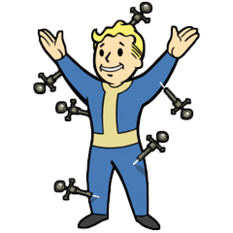 Fallout vault boy clipart royalty free library Fallout Vault Boy Free Clip Art – Clipart Free Download royalty free library