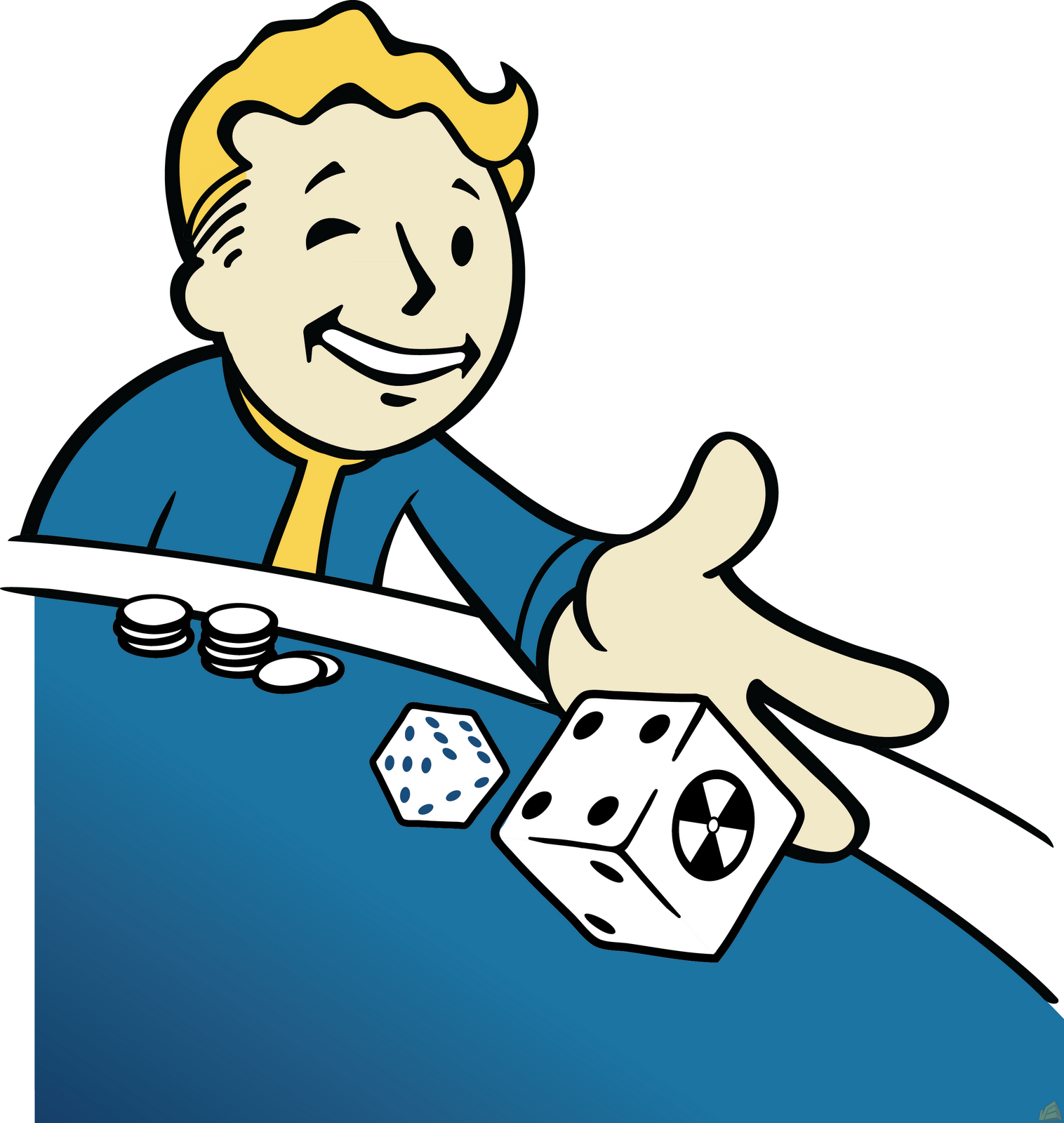 Fallout vault boy clipart image free library Fallout Vault Boy Free Clip Art – Clipart Free Download image free library