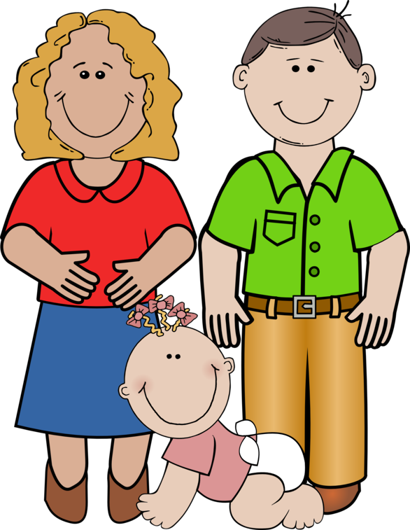 Family with 4 kids clipart all girls clip art transparent stock 41+ Clipart Families | ClipartLook clip art transparent stock