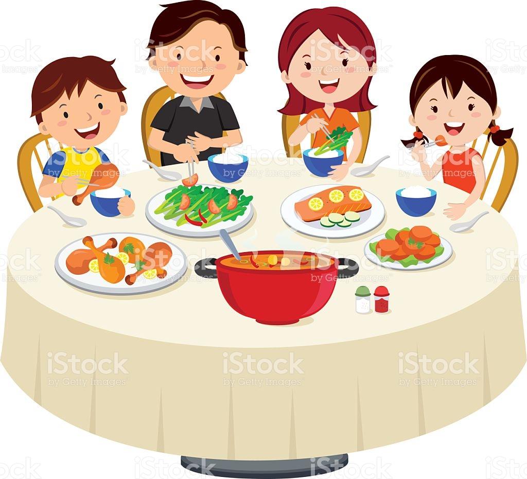 Familie beim essen clipart clipart transparent Familie Essen Abendessen Familie Essen Isoliert Vektor ... clipart transparent