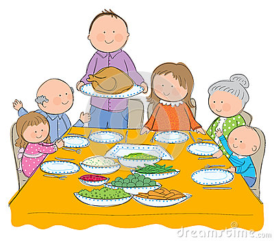 Familie beim essen clipart banner transparent download Abendessen familie clipart - ClipartFest banner transparent download