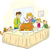 Familie beim essen clipart clip art transparent stock Stuffed Turkey Clip Art - Royalty Free - GoGraph clip art transparent stock