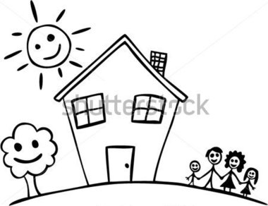 Familie haus clipart image library library Familie haus clipart - ClipartFest image library library