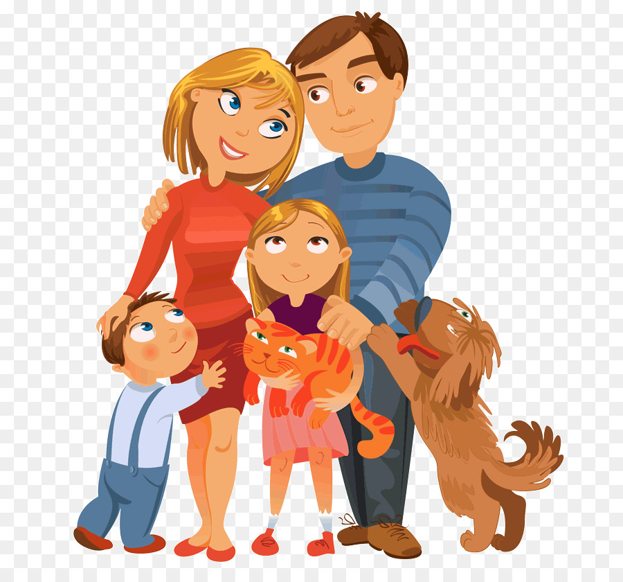 Family and dog clipart image library library Happiness People png download - 750*833 - Free Transparent Dog png ... image library library