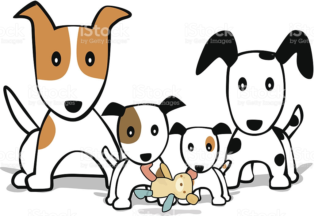 Family and dog clipart banner transparent library Family Dog Cliparts - Making-The-Web.com banner transparent library