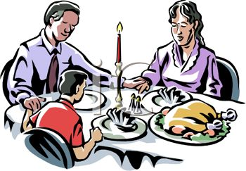 Family around a dinner table clipart freeuse library Family Dinner Table Clip Art | Clipart Panda - Free Clipart Images freeuse library
