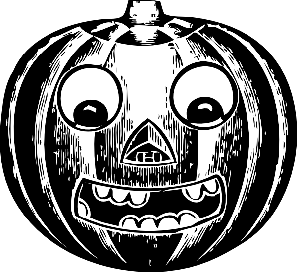 Vintage pumpkin clipart picture royalty free Jack O Lantern With Eyes Clip Art at Clker.com - vector clip art ... picture royalty free