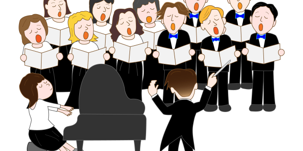 Family bad singing clipart jpg royalty free Singing the Blues Over Bad Church Music jpg royalty free