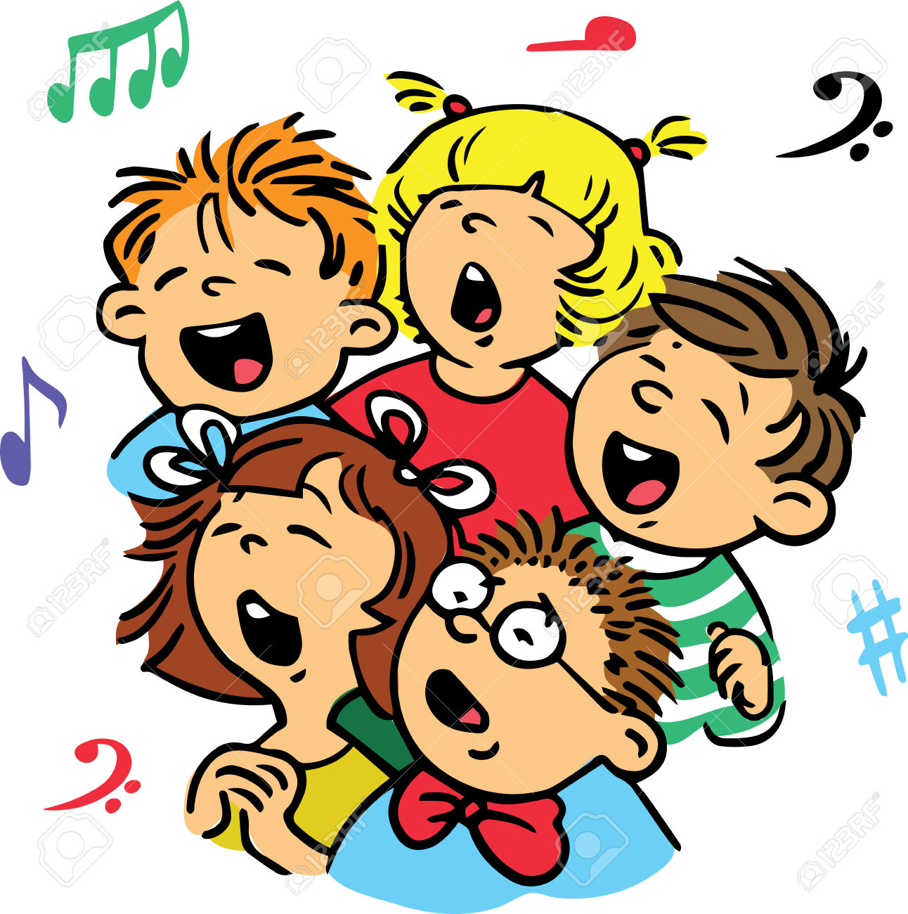 Family bad singing clipart picture library stock Singers Clipart | Free download best Singers Clipart on ClipArtMag.com picture library stock