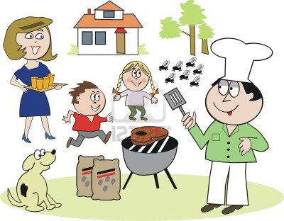 Family barbecue clipart freeuse Family Bbq Clipart Group with 75+ items freeuse