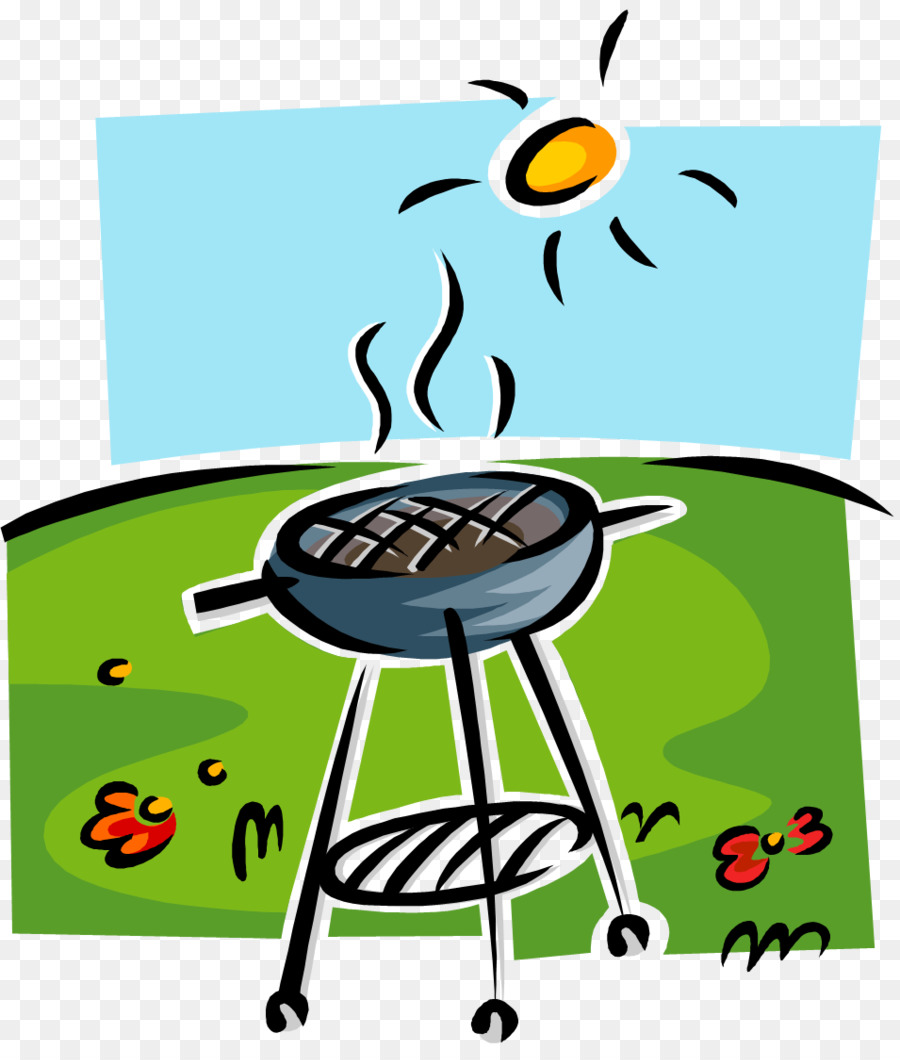Family barbecue clipart image library download Family Cartoon png download - 955*1113 - Free Transparent Barbecue ... image library download
