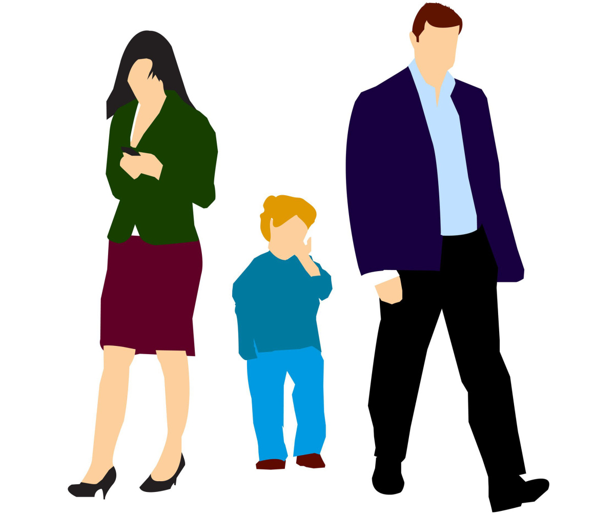 Family being seperated clipart free stock Make kids a priority during difficult separation | The Star free stock
