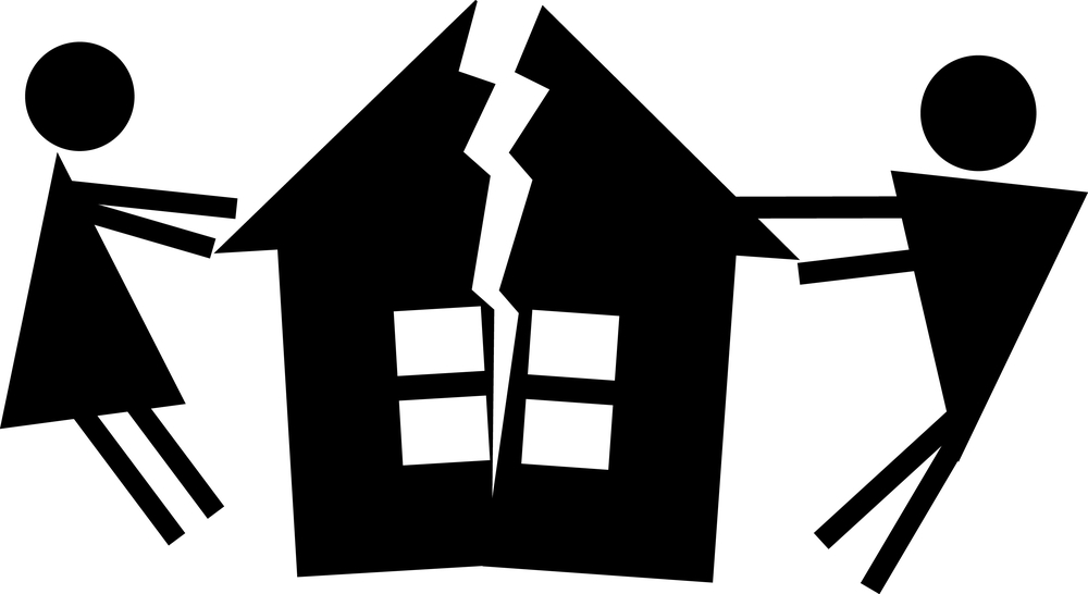 Family being seperated clipart png free library Family Law: Right To Stay In Home After Separation png free library