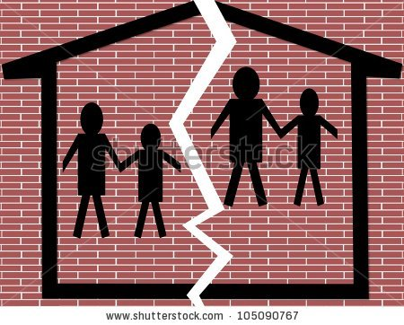 Family being seperated clipart svg Broken family clipart 8 » Clipart Station svg