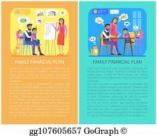Family budget clipart vector freeuse stock Family Budget Clip Art - Royalty Free - GoGraph vector freeuse stock