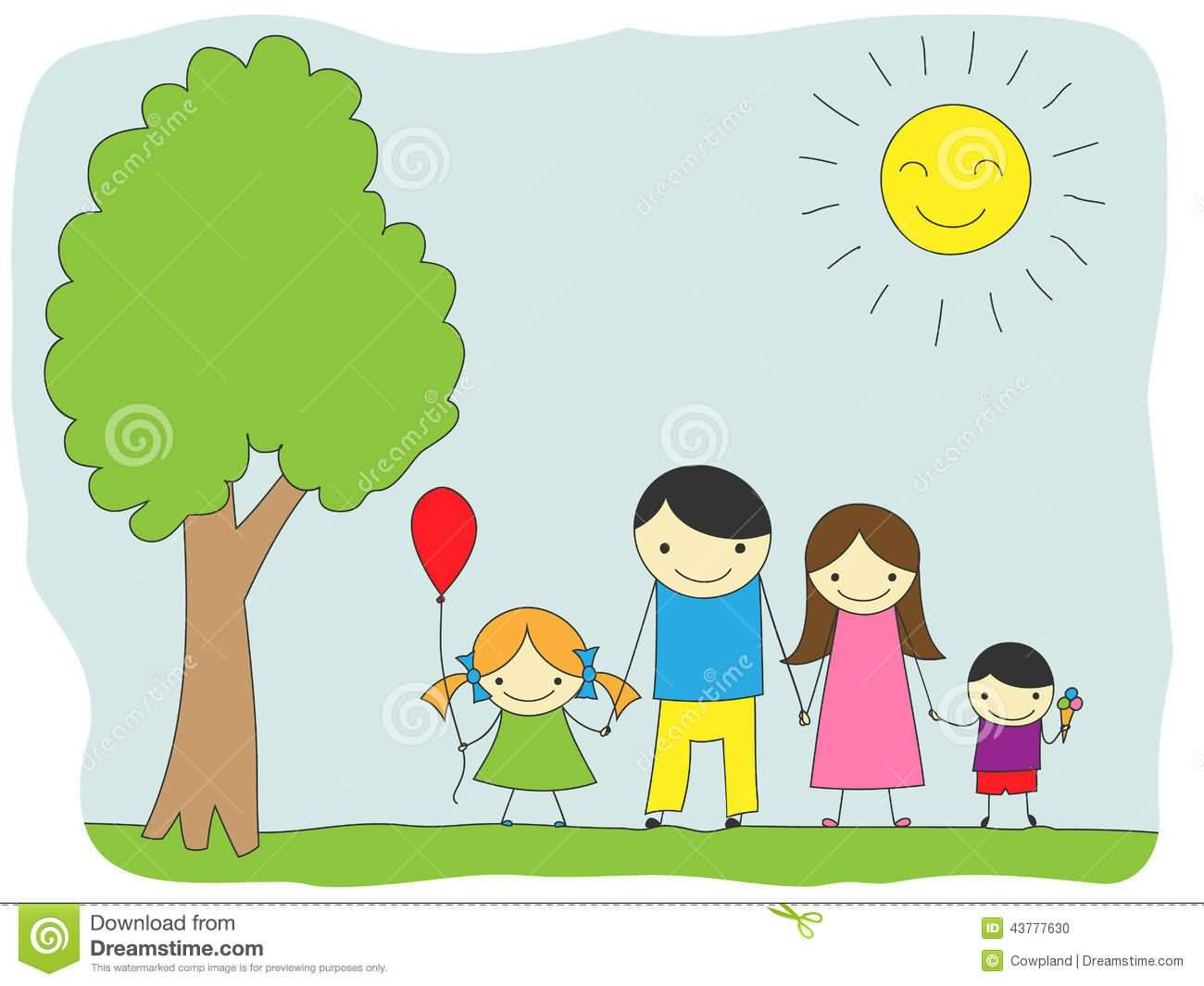 Family celebration clipart clipart free library Family Day Celebration With Family Clipart clipart free library