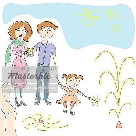 Family celebration clipart vector black and white library 630-06723840 vector black and white library