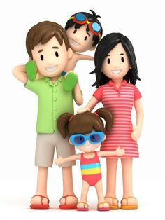 Family clipart 5 people 1 daughter 2 sons image freeuse download 25 3D Pics. Happy Family | Amazing Photos | Family cliparts ... image freeuse download