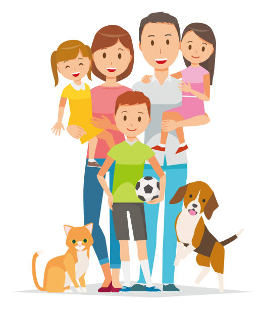 Family clipart 5 people clipart black and white download Family clipart 5 people 3 » Clipart Station clipart black and white download