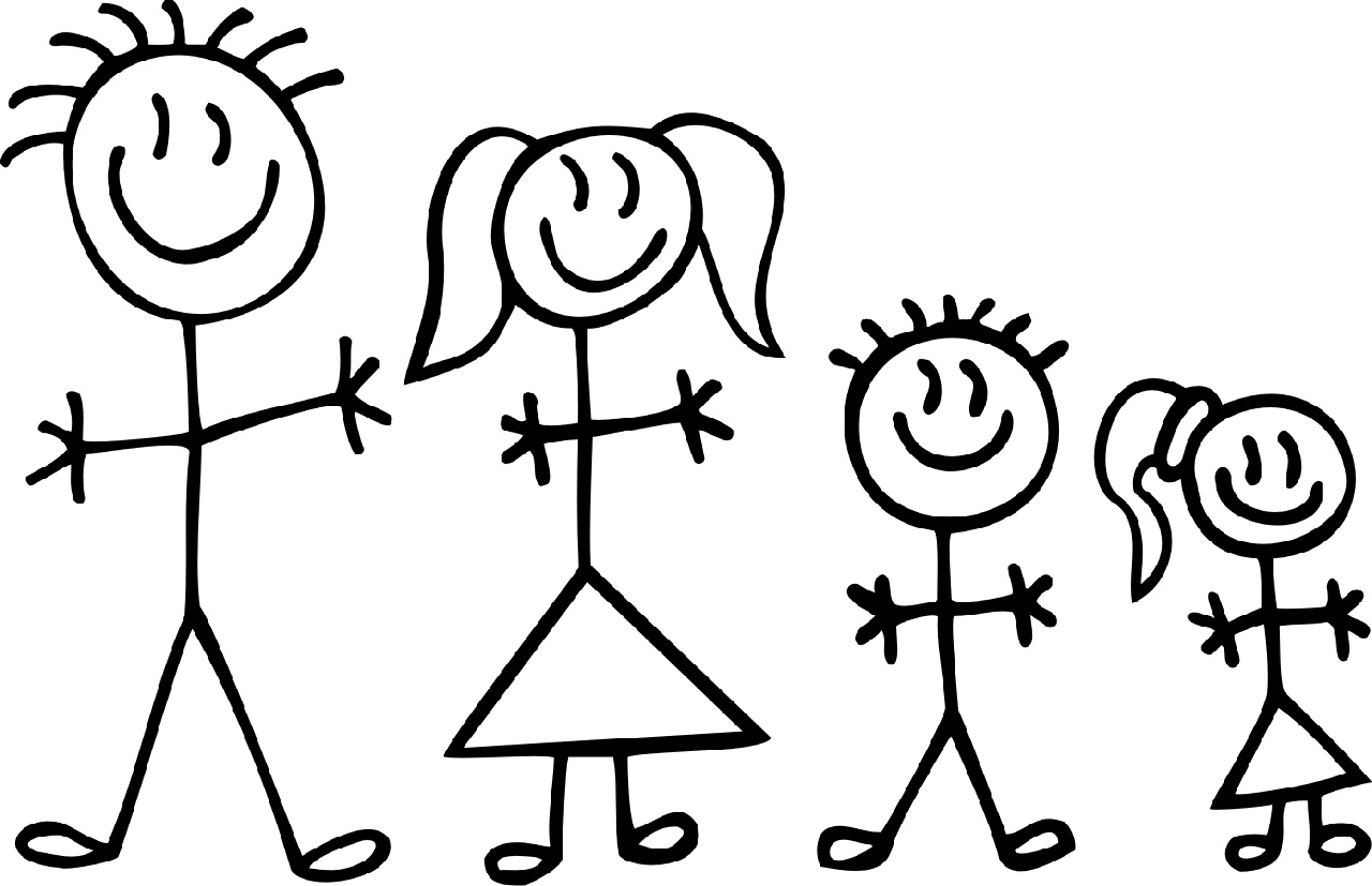 Family clipart 5 people stick people picture freeuse library Family Of 5 Clipart | Free download best Family Of 5 Clipart on ... picture freeuse library