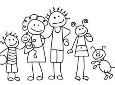 Family clipart 5 people picture free download Family black and white family clipart black and white 5 people ... picture free download