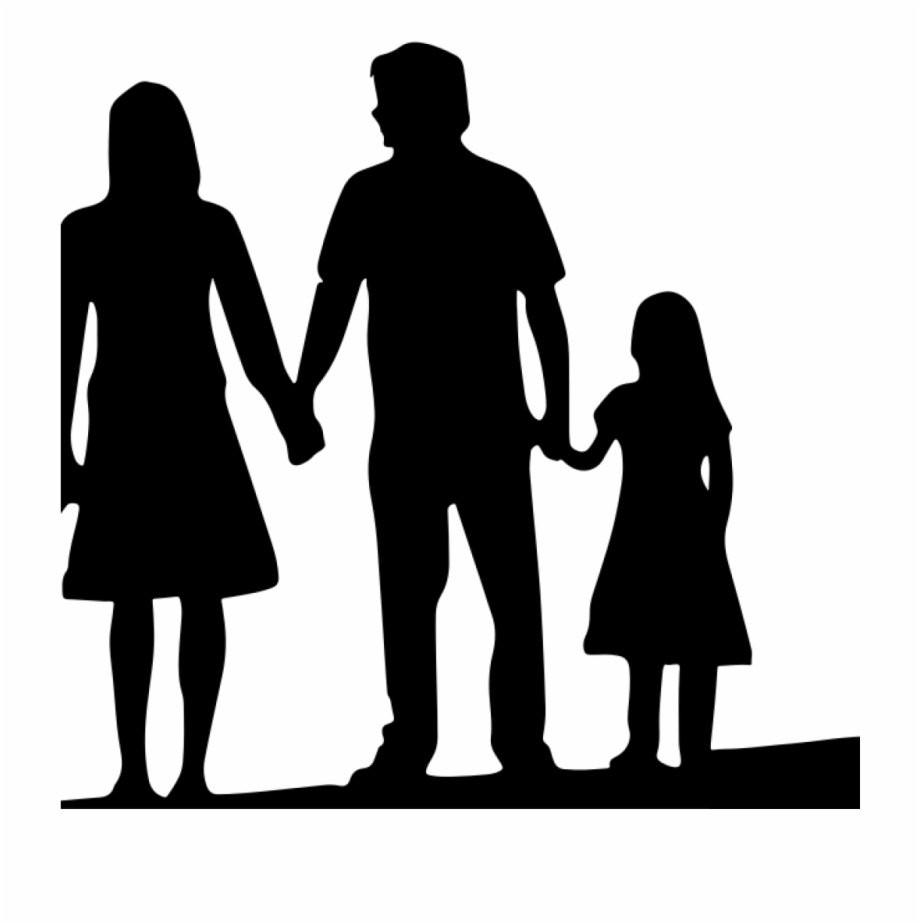 Free clipart of a group of people or families picture transparent stock Free Family Silhouette Clip Art 19 4 Person Family - Family Of 4 Png ... picture transparent stock