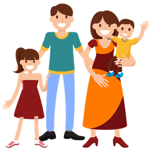 Family clipart gif freeuse download Very Happy Smiling Family clipart, cliparts of Very Happy Smiling ... freeuse download