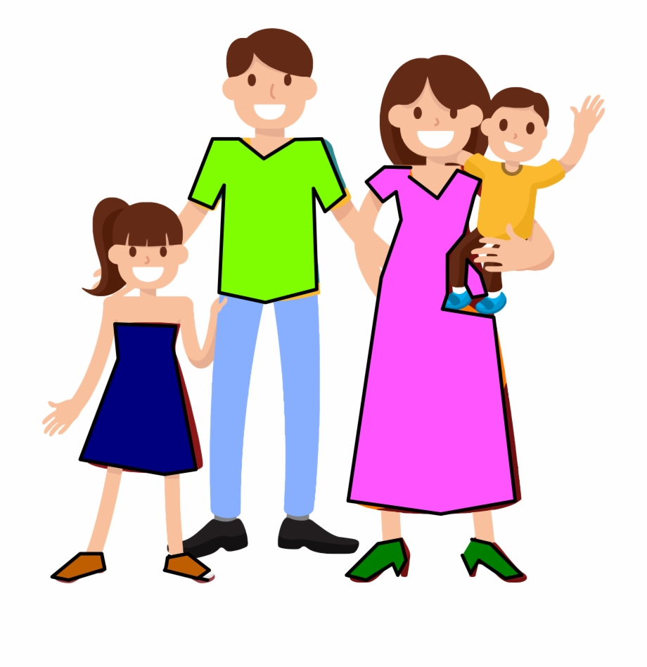 Family computer clipart image transparent Computer Clipart Family - Family Of Four Clipart, Transparent Png ... image transparent