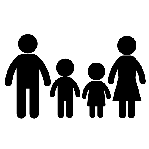 Family computer clipart banner royalty free download Family Computer Icons Clip art - Family Silhouette Cliparts png ... banner royalty free download