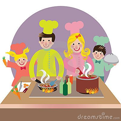 Family cooking clipart banner royalty free Family cooking clipart 2 » Clipart Portal banner royalty free
