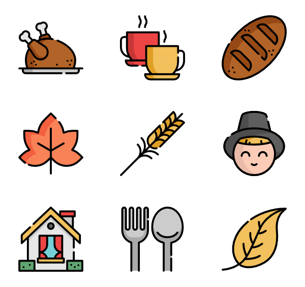 Family eating thanksgiving dinner at restaurant clipart vector library Dinner Icons - 1,229 free vector icons vector library