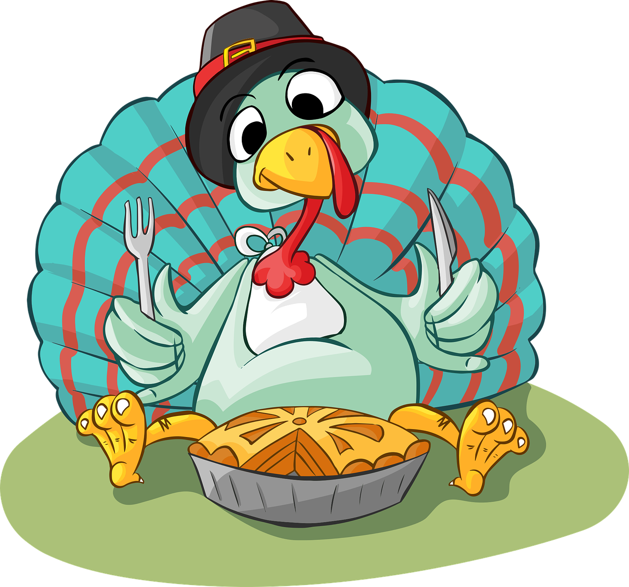 Family eating thanksgiving dinner clipart picture freeuse blessings | picture freeuse