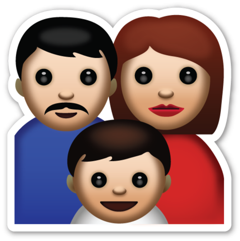 Family emoji clipart picture free library Family | EMOJI | Emoji stickers, Girl emoji, Emoji picture free library