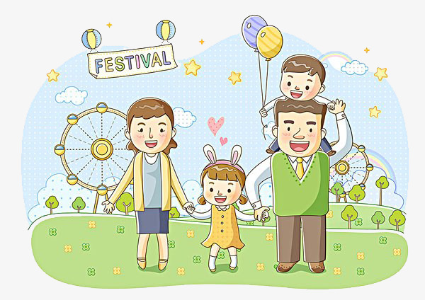 Family festival clipart picture royalty free stock Family in the park clipart 8 » Clipart Station picture royalty free stock