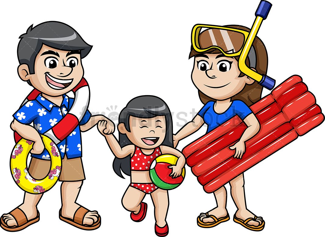 Family going to the. Free clipart kid fighting with parents