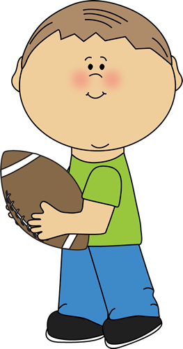 Family football clipart clip art black and white download Boy Carrying a Football   clip art for scrap book   Football clip ... clip art black and white download