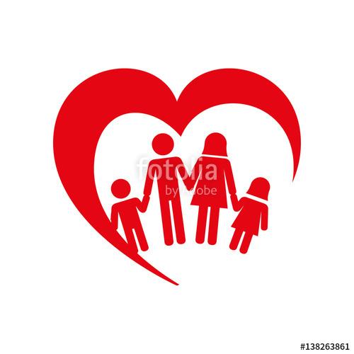 Family health international clipart image freeuse stock family health care icon vector illustration design\