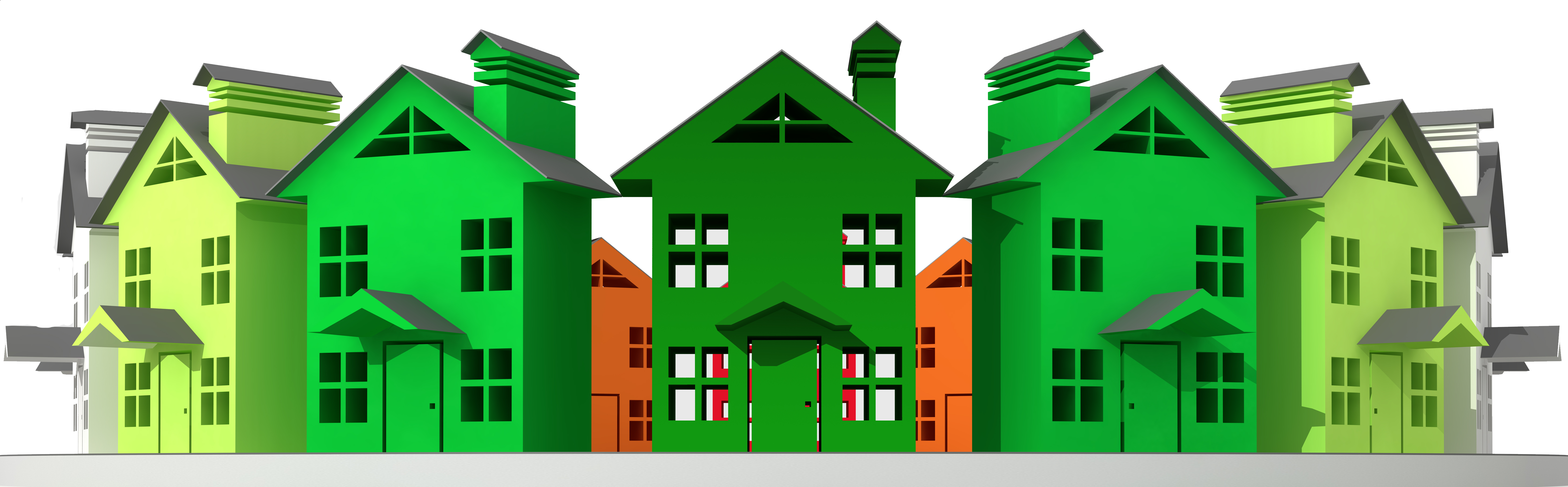 Family in a house clipart clip royalty free download Multi-Family Construction Request clip royalty free download