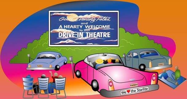 Family in car movie theater clipart clip art stock The local Drive-In is a family favorite! 3 new releases, 1 low price ... clip art stock